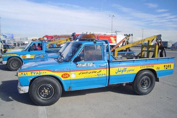 اعزام واحدهای امداد خودرو سایپا برای خدمت رسانی به سیل زدگان
