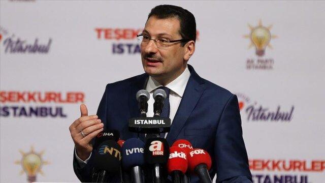 حزب عدالت و توسعه خواستار بازشماری آرای استانبول شد