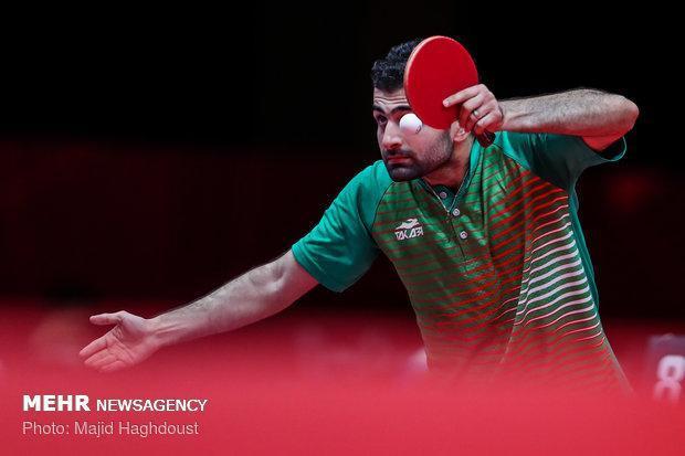 حضور پینگ پنگ بازان در اردوی مجارستان پیش از مسابقات جهانی
