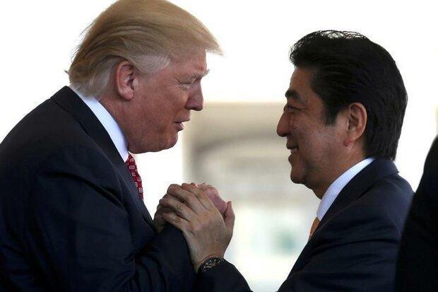 ترامپ در اندیشه انتها دادن به پیمان دفاعی آمریکا با ژاپن است