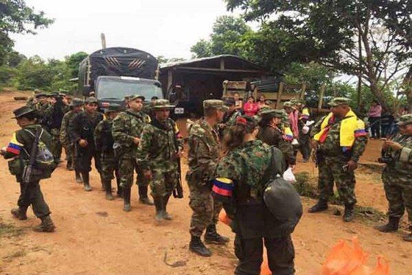 گروه فارک از پایان صلح با دولت کلمبیا خبر داد