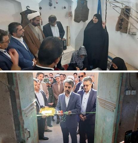 اولین خانه برک ایران در شهر مود خراسان جنوبی افتتاح شد
