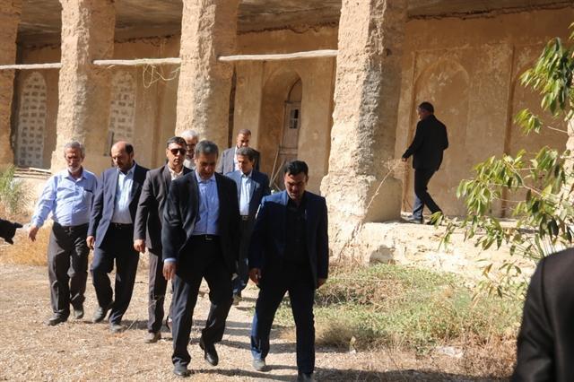 بازدید استاندار بوشهر از آثار و بناهای تاریخی شهر بوشهر