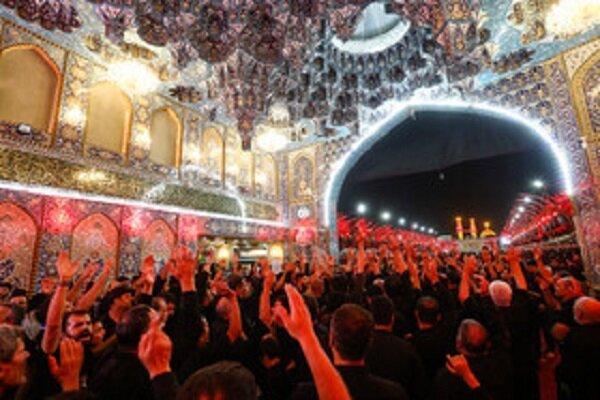 حضور 4 میلیون زائر درکربلای معلی در عاشورای حسینی