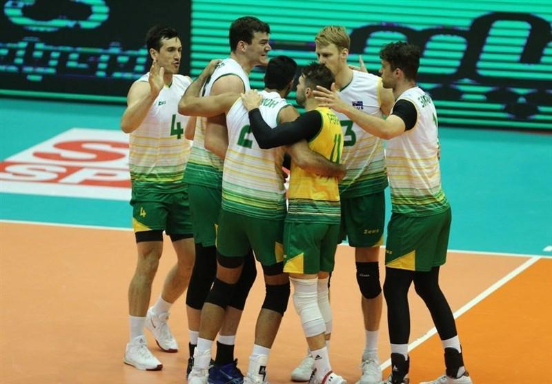 والیبال قهرمانی آسیا، پیروزی سخت استرالیا مقابل هند، قزاق ها به سریلانکا باختند