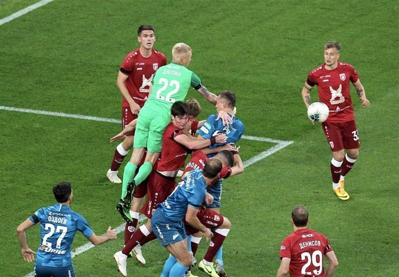 لیگ برتر روسیه، پیروزی 5 گله زنیت در غیاب آزمون