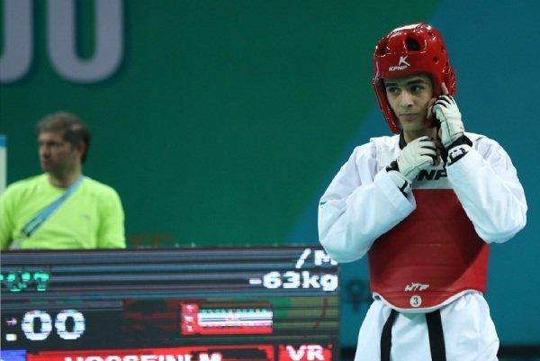 حسینی به فینال صعود کرد، مدافع عنوان قهرمانی به دنبال اولین طلا