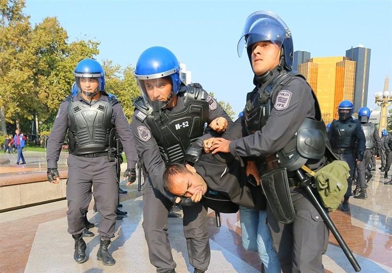گزارش، تظاهرات ضد دولتی در جمهوری آذربایجان و بازداشت رهبر اپوزیسیون