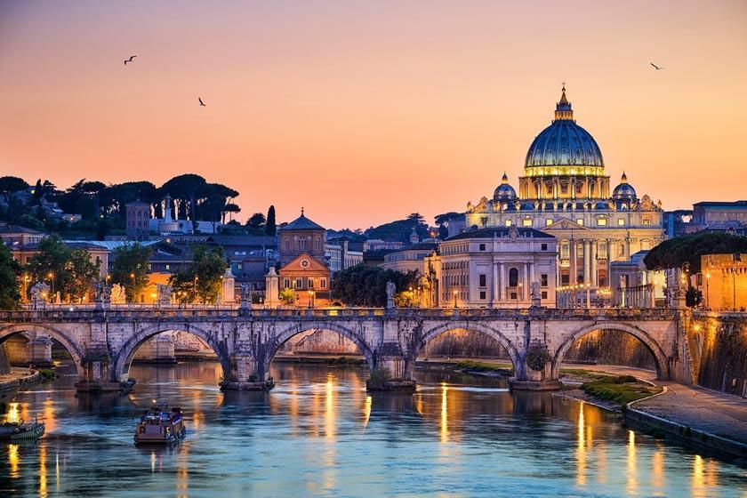 سفر 5 روزه به رم