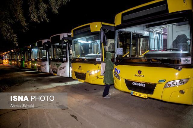 به کارگیری اتوبوس های برون شهری در شهرها به کجا رسید؟