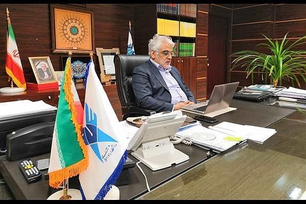 ملاقات نوروزی دکتر طهرانچی با رئیس و مدیران مرکز سنجش، پذیرش و فارغ التحصیلی دانشگاه آزاد برگزار گردید