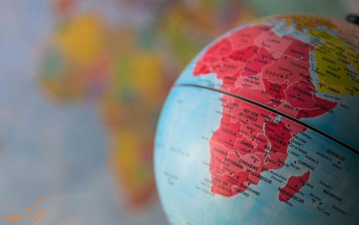 چند کشور در قاره آفریقا وجود دارد؟