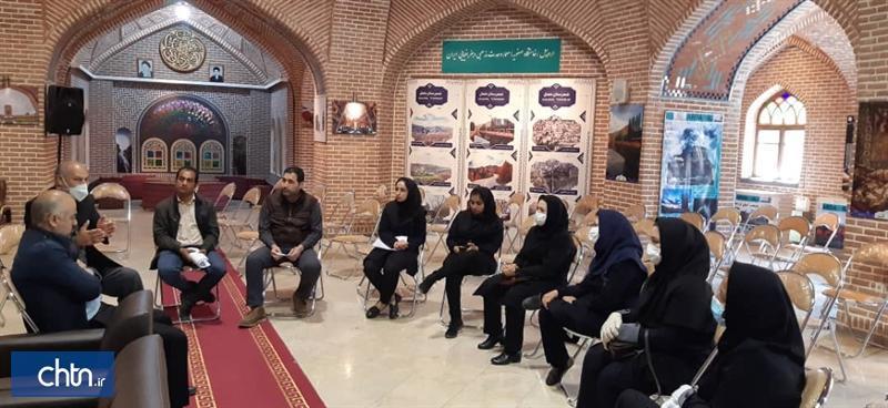 اولین کارگاه ارتقای سطح کیفی اطلاعات راهنمایان موزه در اردبیل برگزار شد