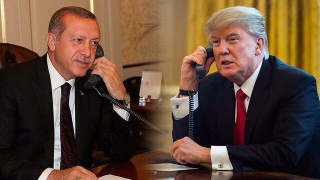 ترامپ در مصاحبه با اردوغان خواهان آتش بس فوری در لیبی شد