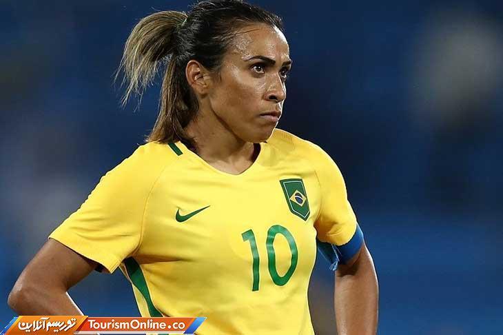 مارتا ویرا داسیلوا ستاره فوتبال زنان که با پسران بازی کرد و ستاره شد!، عکس