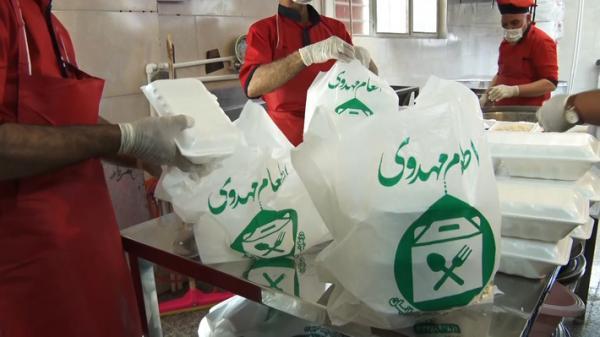 طبخ و توزیع بیش از 100 هزار پرس غذای گرم بین محرومان البرزی